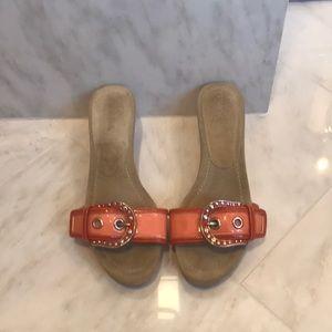 Prada designer high fashion sandals